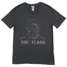 The Flash The Fastest Man Alive Junk Food Adult V Neck T-Shirt