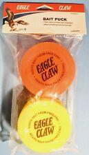 New listing 2 Eagle Claw Insulated Live Bait Storage Pucks, Ice Fishing, Wax Worms, Mousies