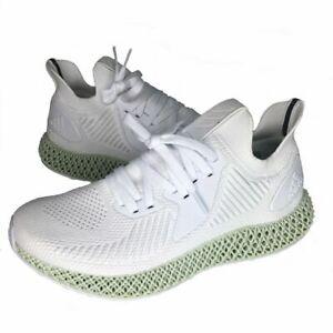 Adidas AlphaEdge 4D White/Green Running Sneaker Shoe's Mens ( EF3454 ) SZ 6.5 US