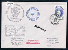 04585) Polar Antarktis TAAF Paquebot > Reunion 28.2.89,