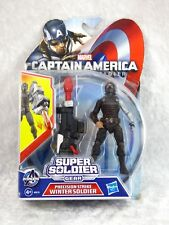 HASBRO AVENGERS CAPTAIN AMERICA SUPER SOLDIER WINTER SOLDIER FIGURINE