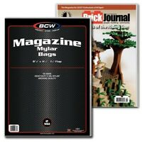 2 Mil Bag MYLAR Acid Free 20 BCW 11x17 Art Print Bags // Sleeves