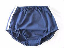 Ladies Classic Gymphlex XL 100% Bri Nylon NAVY School Gym Knickers (W30 - 38In)