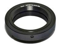 T2 T lens to Pentax PK K mount adapter ring for SLR DSLR camera Made in Japan