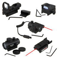 Red Green Dot Sight Scope Tactical Hunting Holographic Reflex Rifle Sights Scope