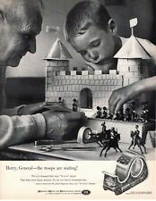1961 ORIGINAL VINTAGE SCOTCH TAPE CELLOPHANE TAPE  MAGAZINE AD