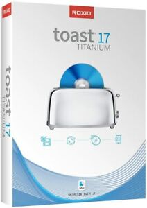 Roxio Toast 17 Titanium CD & DVD Burning Suite - Mac