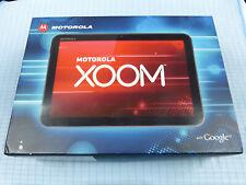 Motorola Xoom mz601 32 Go WLAN +3 G (Déverrouillé) Noir/Argent! Excellent état! neuf dans sa boîte!