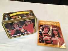Mork & Mindy Metal Lunchbox And Na-No! Book Of Games