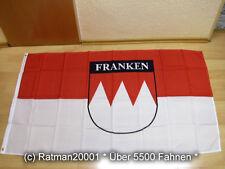 Fahne Deutschland Franke durch die Gnade Gottes Flagge fränkische Hissflagge 90x