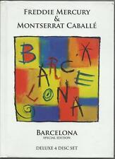 FREDDIE MERCURY & MONTESERRAT CABALLE' - Barcelona (deluxe) (2012) 3 CD + DVD