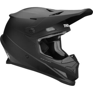 Thor Sector Solid Motocross Helmet Off-Road MX Lid Plain ECE Approved GhostBikes