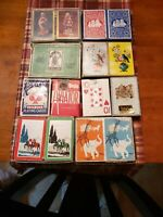 Vintage Playing Cards 14 Decks- Great Variety!