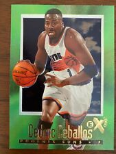 1996 -1997 BASKETBALL NBA SKYBOX E-X2000 CEDRIC CEBALLOS # 55