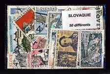 Slovaquie - Slovakia 50 timbres différents