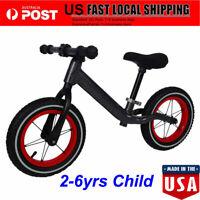 Balance Bike Kids No-Pedal Learn To Ride Pre Bike Adjustable Seat 2-6yrs Child