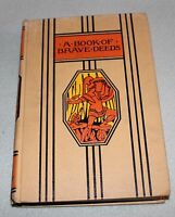 Young Folks Library A Book of Brave Deeds  c1947