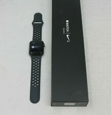 Apple Nike+ Series 3  MTF12LL/A 38mm Space Gray Case Smartwatch - ACT LOCK