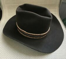 Brown Bailey New West Western Hat - Size 7 3/8