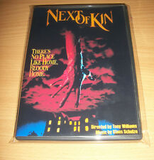NEXT OF KIN MOVIE DVD - KLAUS SCHULZE MUSIC NEW 2016