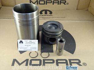 Engine Piston & Liner Kit Jeep Cherokee KJ 2.8CRD 05-07 5142785AB New OEM Mopar
