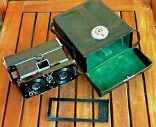 Ica Polyskop Stereokamera m Carl Zeiss Jena Tessar 4.5 / 6.5cm + Original-Tasche
