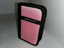 NEW PINK Folio Carrying  travel case for Gameboy SP, DS, Ds Lite, Dsi, GBA   L8