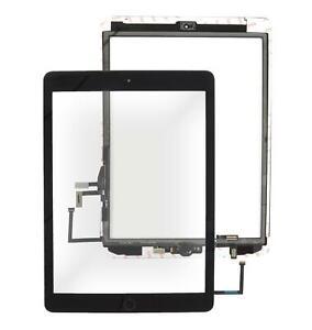 iPad 5 2017 Display Scheibe schwarz Touchscreen Homebutton Digitizer Glas Front