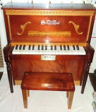 Limited Edition Schoenhut 37 Key Piano with Bench