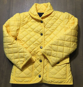 POLO RALPH LAUREN Girls Jacket Quilted Coat Size 6