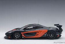 1/18 AUTOART - 81543 McLaren P1 GTR Gris Oscuro Metálico/Naranja