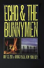 Echo and the Bunnymen Original Concert Poster Nyc 2011