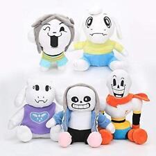 Undertale Plush Asriel Papyrus  Toriel Temmie Stuffed Plush Toys for Kids 5PCS