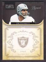 2011 Playoff National Treasures Football #166 Jim Plunkett 94/99 Oakland Raiders