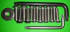 Solar Panel SECURITY Mounting Screws ANTI THEFT Canal Narrow Boat Barge Widebeam