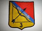 """Vietnam War Patch ARVN 3rd INFANTRY Regiment """"GIOI TUYEN"""" (Variation)"""