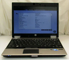 "HP EliteBook 2540p i7, 4GB, 250GB, 12.1"" LCD, No OS"