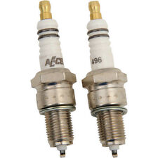 Pair Of Accel U-Groove Spark Plugs For Harley-Davidson Big Twins 1980-99