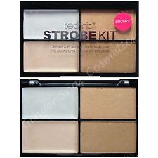 Technic Strobe Kit 4pc Cream & Powder Highlighters Bronze