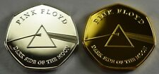 PINK FLOYD DARK SIDE OF THE MOON Silver, Gold Commemoratives. Album/Collectors