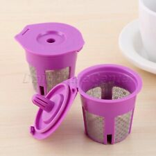 Reusable Coffee Filters Capsules for Keurig 2.0 1.0 K15 K40 K45 K50 K55 K60 K65