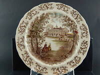 ANTICO JOHNSON BROS WINDSOR WARE PIATTO PORTATA MOUNT VERNON SEMI PORCELLANA