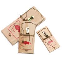 Réutilisable Piège de contrôle Appât Piège à rat en bois Lutte antiparasitaire