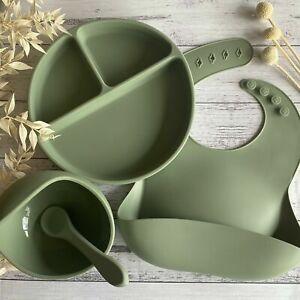 Waterproof Silicone Bib Soft,Waterproof,Adjustable,BPA Free,Roll Up,Dishwasher