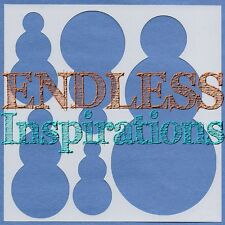 "6""x6""Endless Inspirations Stencil, Snowman - Free US Shipping"