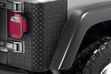 Jeep TJ Wrangler Rear Body Armor Tall Corners 1997-06 Rugged Ridge 11650.02