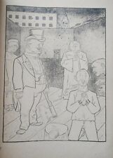 Lithography original - George Grosz - Ecce Homo - Das Vaterunser - 1923