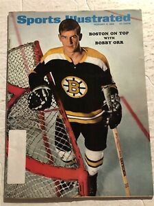 1969 Sports Illustrated BOSTON BRUINS Bobby ORR Boston On Top His 2nd Cover