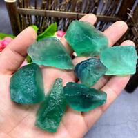 100g Rough Green Fluorite Natural Crystal Healing Reiki Stone Mineral Specimen