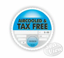 Volkswagen Aircooled & tax free Car Van Sticker Decal Funny Stickers JDM Euro VW